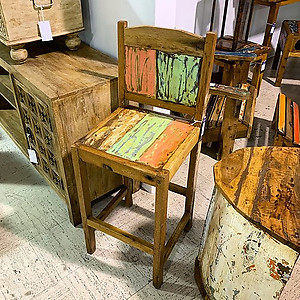 Boatwood  Outdoor Barstools