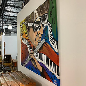 Music Man Original Wall Art