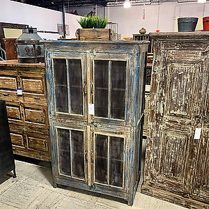 SOLD Rustic Storage Cabinet