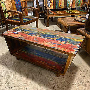 SOLD! Boatwood Coffee Table