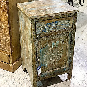Sold! Distressed Reclaimed Wood Nightstand