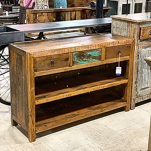 Boatwood Console Table