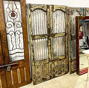 SOLD! Reclaimed Double Door