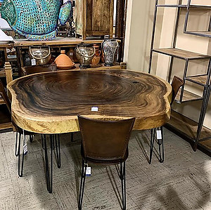 Sold! Live Edge Round Table