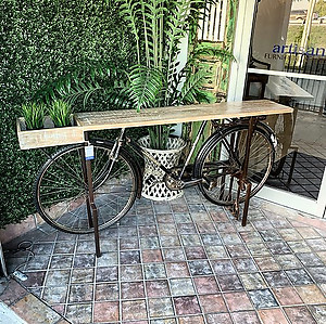 Sold! BICYCLE! Console Table