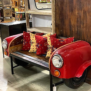 Sold! Car Bench