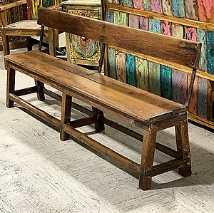 Sold! Reclaimed Wood Bench