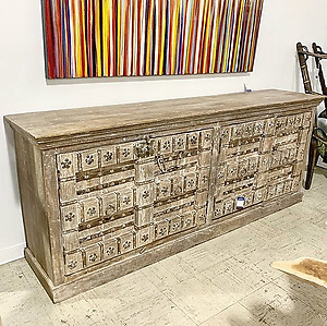 Sold! Reclaimed Old Door Sideboard