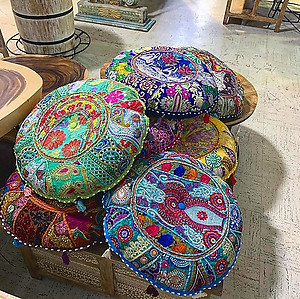 Gaddi Floor Pillow