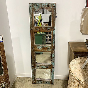 Reclaimed Panel Wood Mirror