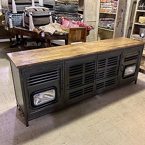 Sold! Industrial Media Cabinet