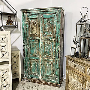 Sold! Green Storage Cabinet