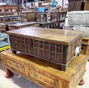 Sold! Coffee Table Trunk