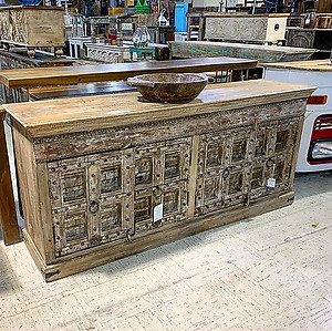 SOLD! Reclaimed Door Sideboard