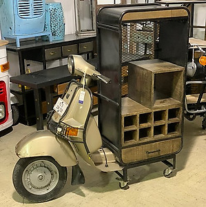 Sold! Scooter Storage Bar Counter