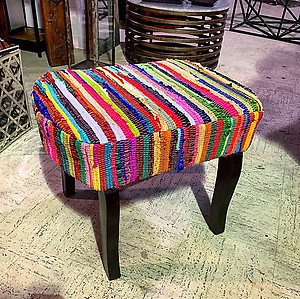 SOLD! Multi-Color Stool