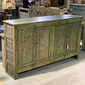 Panel Wood Sideboard