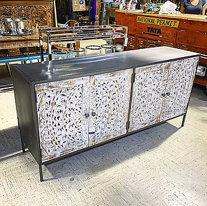 Sold! Industrial Sideboard