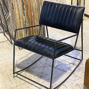Industrial Rocking Chair