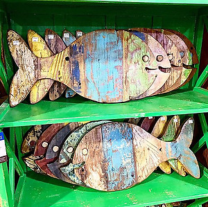 Boatwood Fish Decor