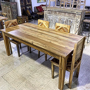 Sold!  Wood Dining Table