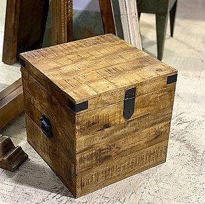 SOLD! Cube Table Trunk