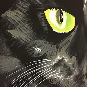 Black Cat Original Art