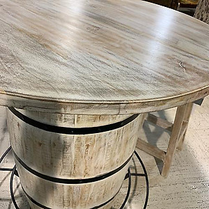 Sold! Barrel High Top Table