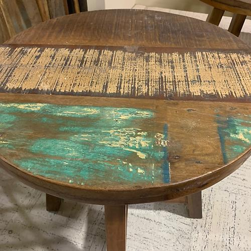 Sold! Rustic Round Table