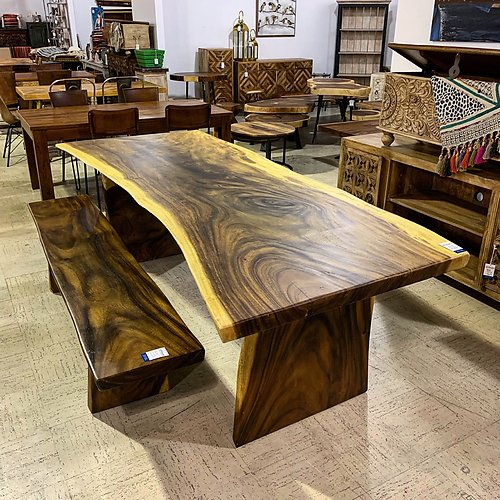 SOLD! Live Edge Dining Table