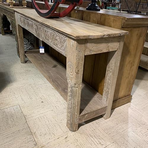 Carved Console Table