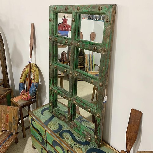 SOLD! Reclaimed Window Mirror