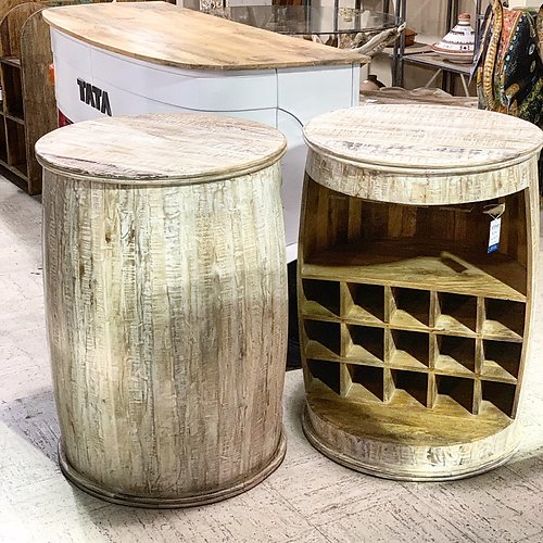 Sold! Barrel Wine Table