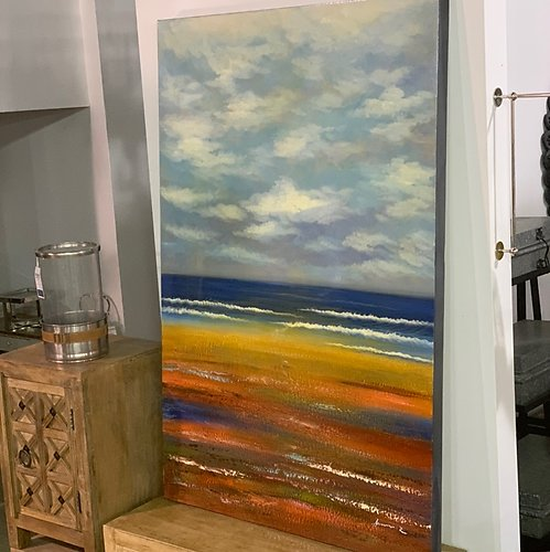 Beaches Original Oil on Canvas