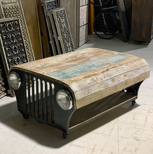 Sold! Jeep Coffee Table