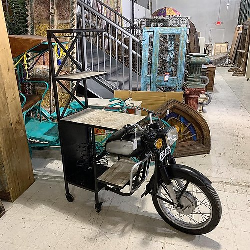 Motorcycle Bar Counter