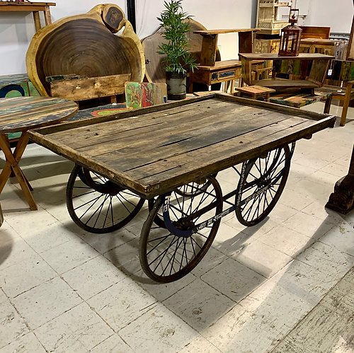 SOLD! Reclaimed Street Vendor Cart