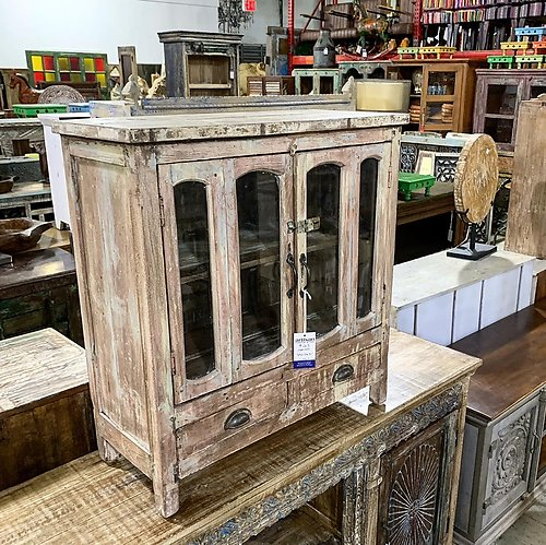SOLD! Distressed Wall Cabinet