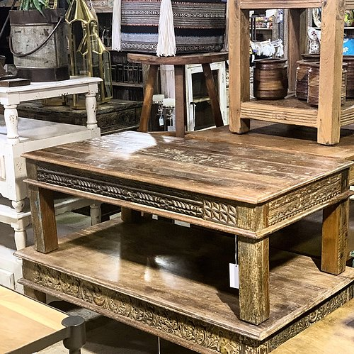 Sold! Reclaimed Wood Coffee Table
