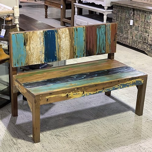 Sold! Boatwood Outdoor Bench