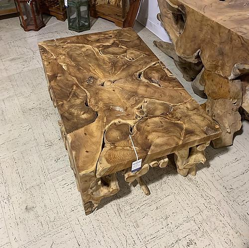 SOLD! Teak Root Coffee Table