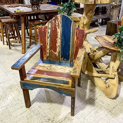 Boatwood Chair401404