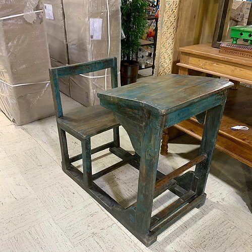 SOLD! Reclaimed School Desk