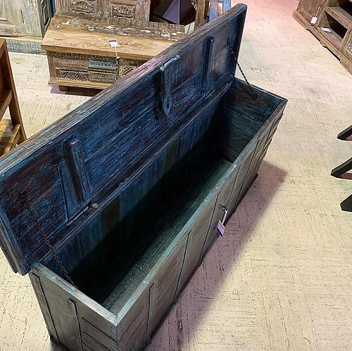 SOLD! Console Trunk Table